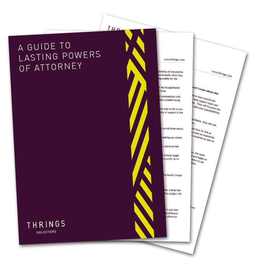 A Guide To Lasting Powers Of Attorney image