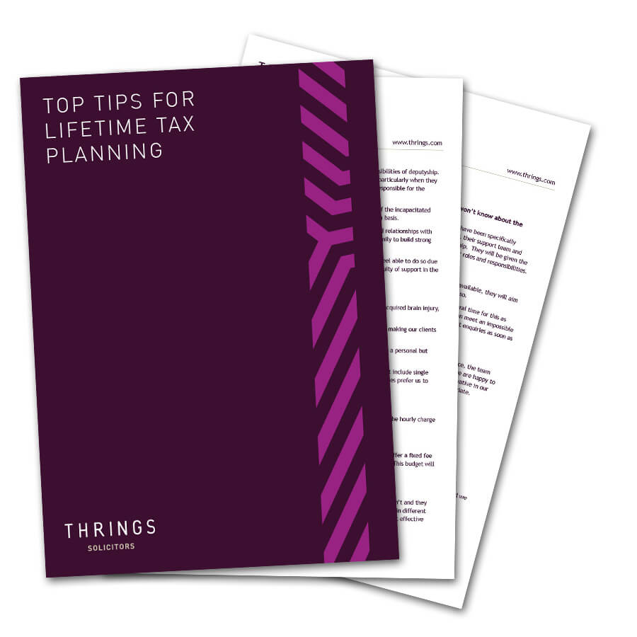 Top Tips For Lifetime Tax Planning image