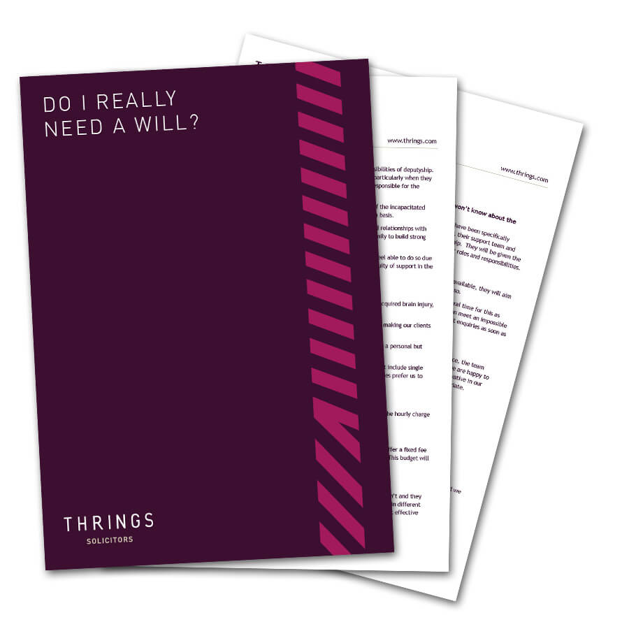 Do I Really Need A Will? image