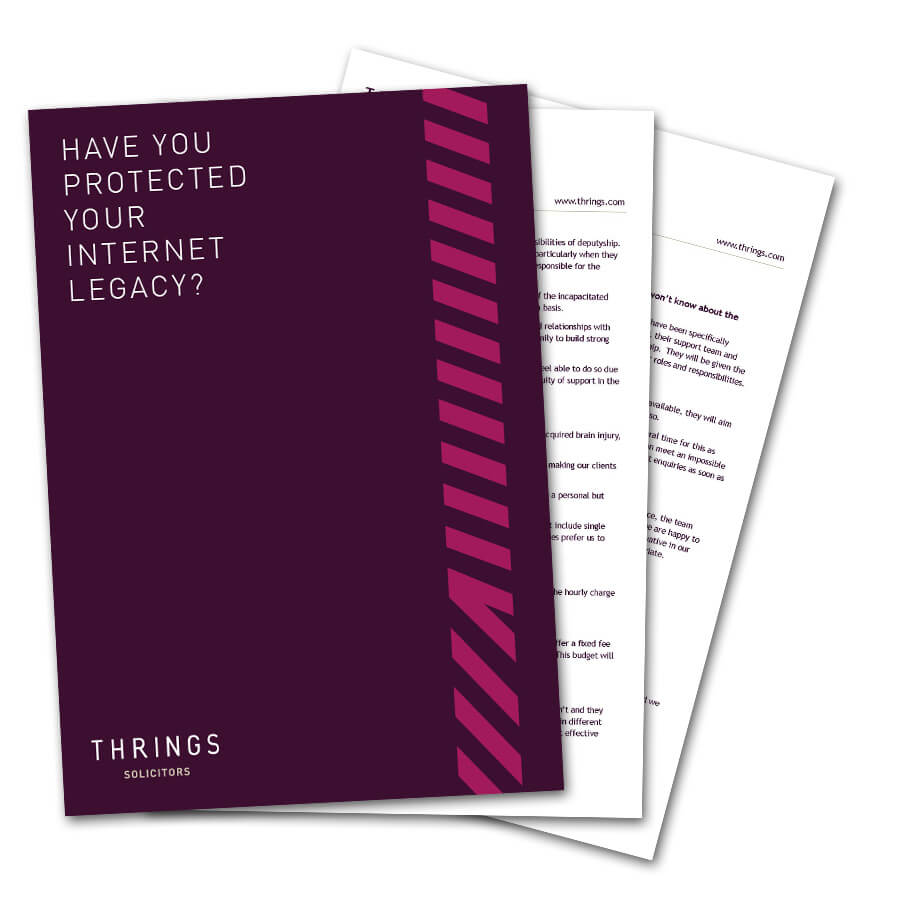 Have You Protected Your Internet Legacy? image
