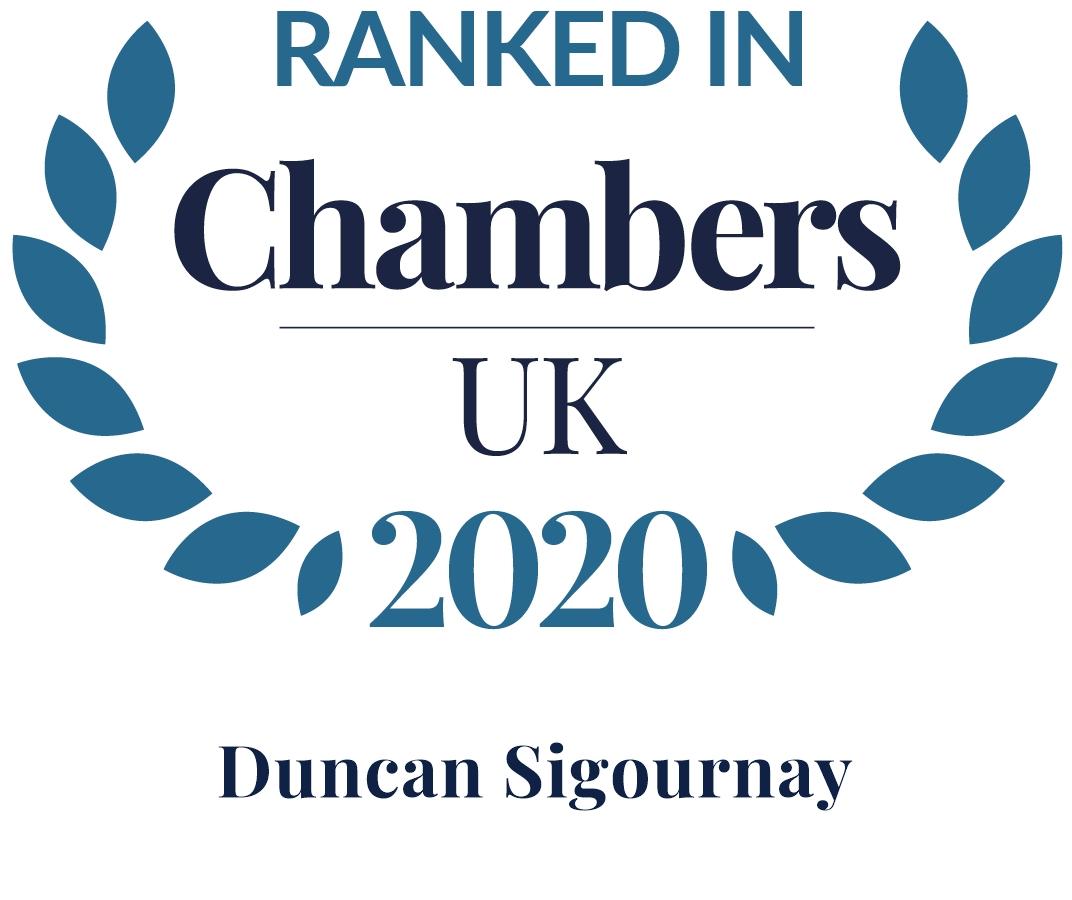 Duncan Sigournay Accolades