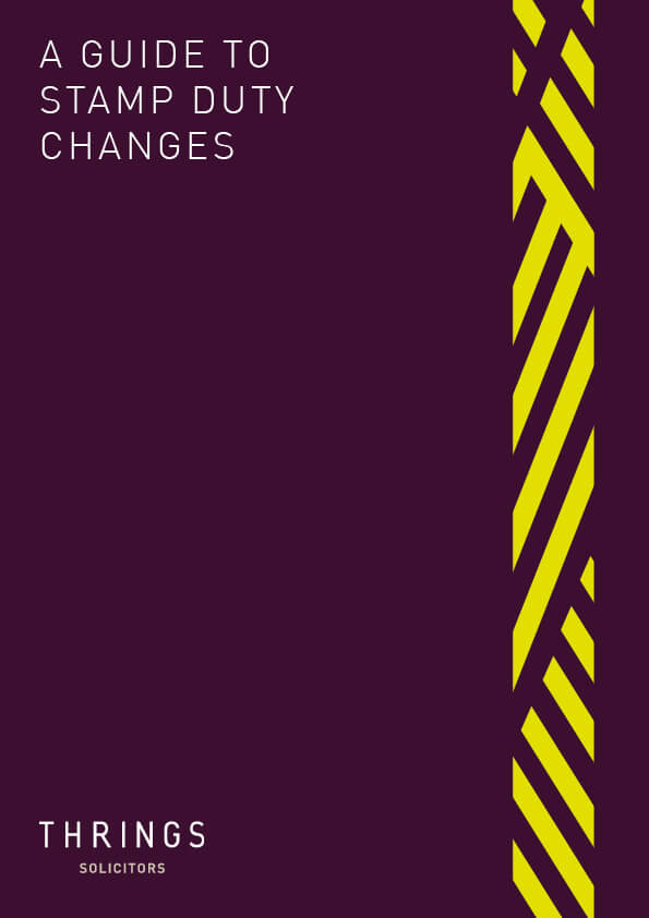 Thrings' 'A Guide To Stamp Duty Changes'