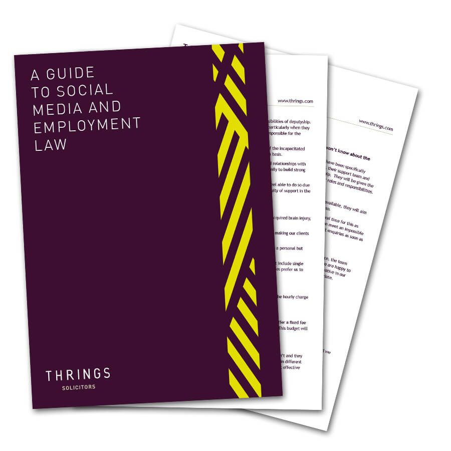 A Guide To Social Media And Employment Law